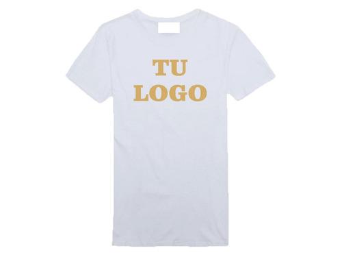 remeras personalizadas estampadas sublimadas logo blancas