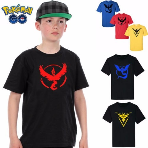 Remeras Pokemon Go - Team Valor - Team Mystic - Niños adulto -   299 ... 0f82fa81f1ff