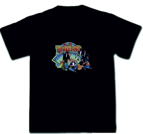 remeras rock traveling wilburys