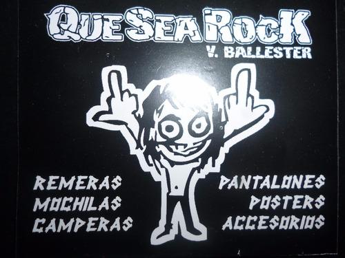 remeras white zombie rob rockería que sea rock v. ballester