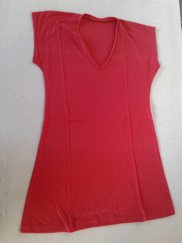 remeron remera roja de algodon talle m impecable!!!