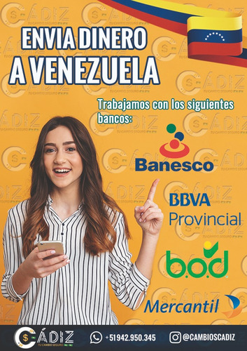 remesas a venezuela, colombia y perú