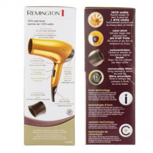 remington cabello secador cabello