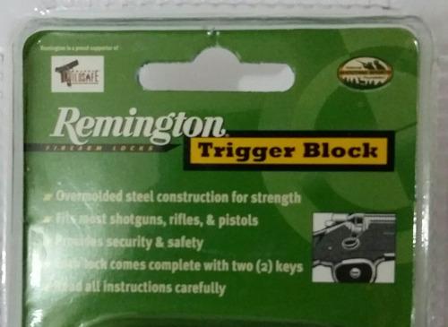 remington seguro bloqueador de armas