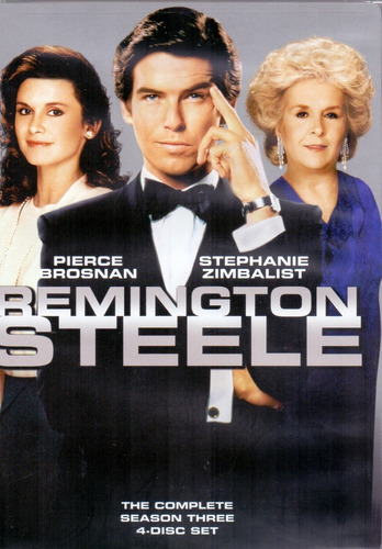 remington steele tercera temporada 3 tres importada dvd