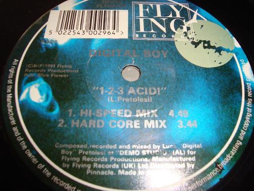 remix 12 inch - digital boy ¿¿ 1-2-3 acid!