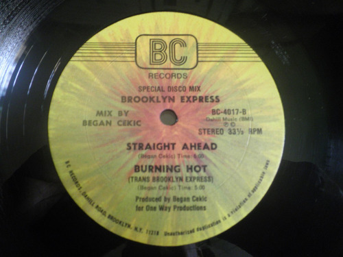 remix de brooklyn express - kinky girls / burning hot (1982)