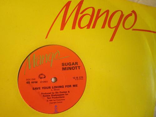 remix reggae sugar minott - save your loving for me (1986)
