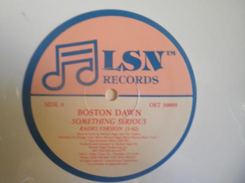 remix vinyl blanco boston dawn - something serious (1990)