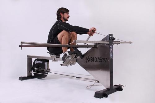 remo ergometro biotech modelo raptor. simulador de remo