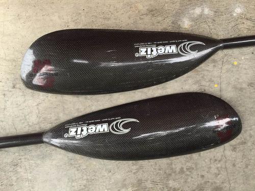 remo (pala) kayak fenn 4 carbono