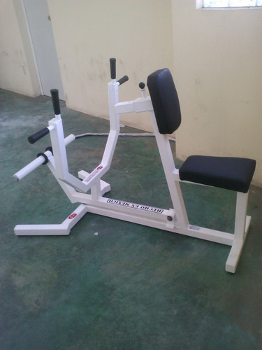 remo para discos olimpicos marca: guerra fitness equipment