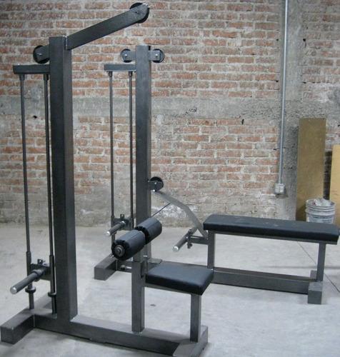 Remo polea baja para disco olimpico marca guerra fitness for Poleas para gimnasio