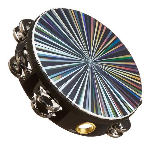 remo radiant tambourin 8'' pandero de sonajas dobles
