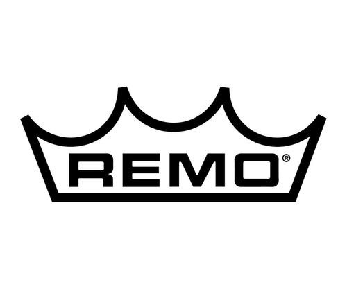 remo usa br112400 parche de bombo ambassador coated 24'' 6pa