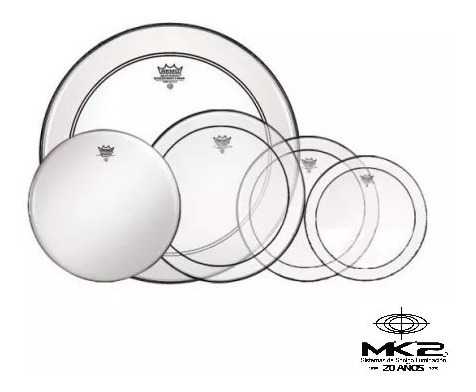 remo usa pp0270ps set parches 12 13 16 ps, 22 p3, 14 coated.