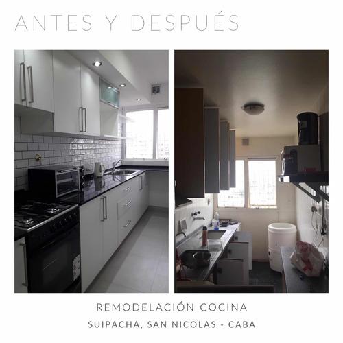 remodelación cocinas, baños, comedor, obras en general