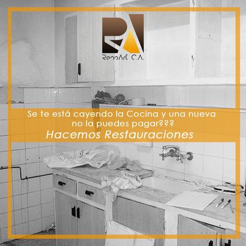 remodelación, fabricación de cocinas y mobiliario general