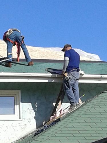 remodelación, trabajos de pintura, piso flotante y techumbre