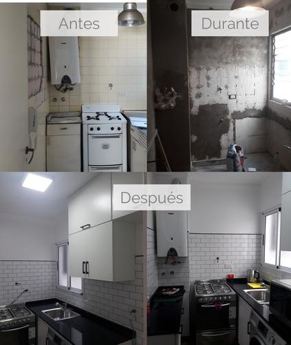 remodelaciones, refacciones, construccion, amoblamientos
