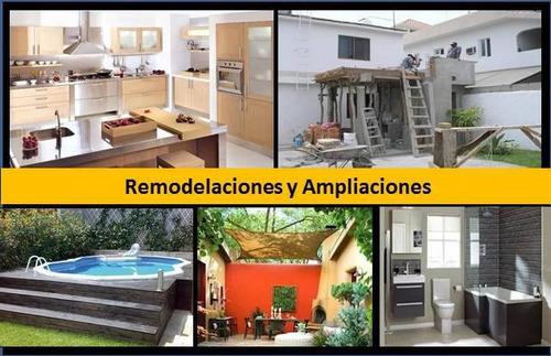 remodelaciones y ampliaciones