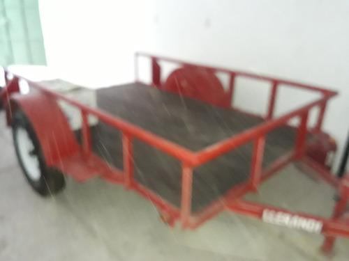 remolque 100% nuevo cama baja 1.5 ton