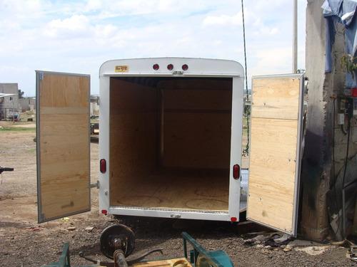 remolque 6000 kilos caja seca,de 6 metros marca norte