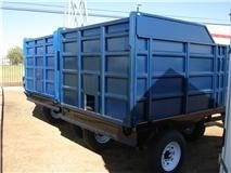 remolque agricola-forrajero 6,000 kg