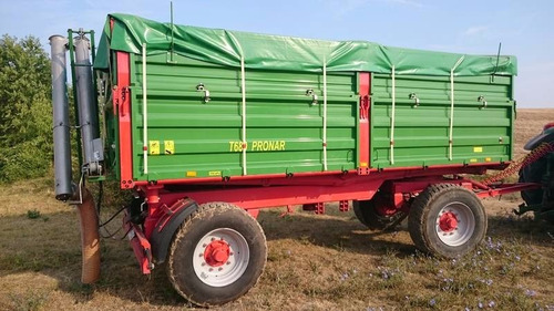 remolque agricola vagon forrajero zorra pronar.