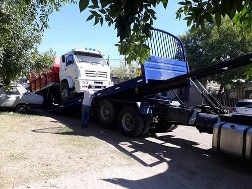 remolque auxilio mecanico de vehículos pesados livian y espe