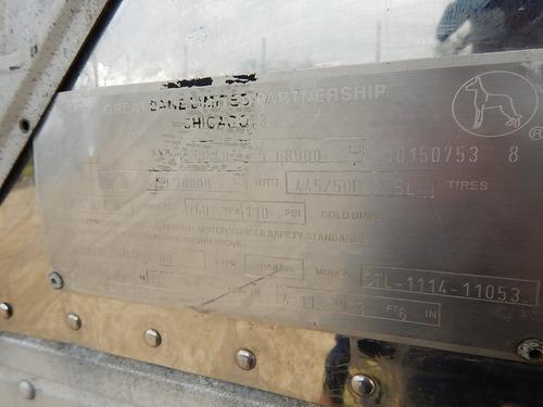 remolque caja refrigerada 2010 great dane 53x102 thermo king