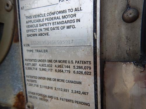 remolque caja seca 2005 strick 53x102 gm106600