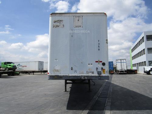 remolque caja seca 53' fruehauf 2000 suspension de aire