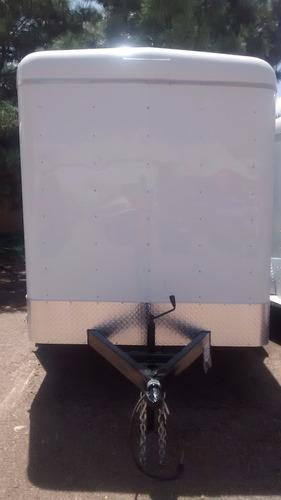 remolque caja seca 6000 kilos nuevo con serie,de 6 metros