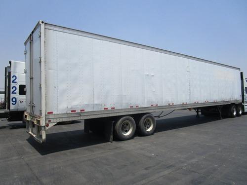 remolque caja seca lufkin 53 pies importada 2007 sus. aire