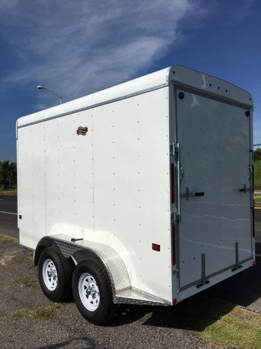 remolque caja seca para motos, cuatrimotos, can-am, karts