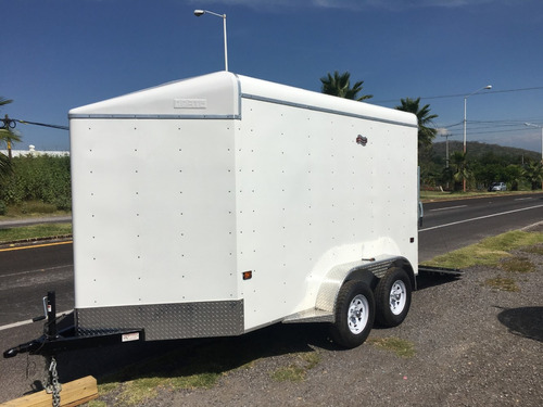 remolque caja seca para motos, cuatrimotos, karts, can-am