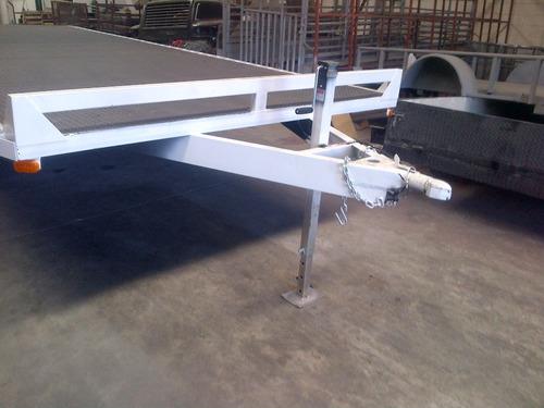remolque cama alta camiones plataforma maquinaria mex 17