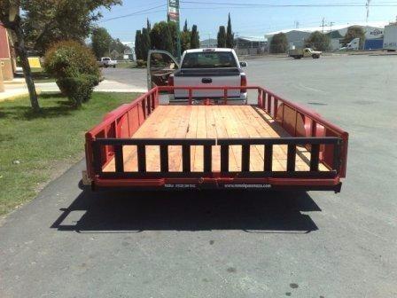 remolque cama baja 3000kg reciclados,maquinaria,motos,carga