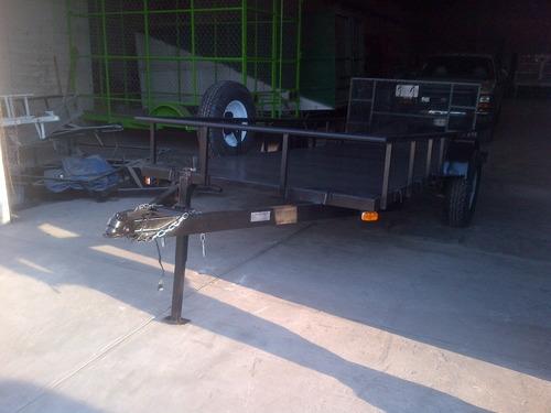 remolque cama baja camionetas cuatrimotos minicargador mex