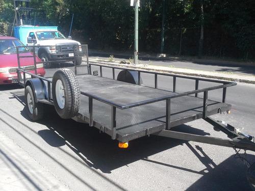 remolque cama baja camionetas cuatrimotos traila mex