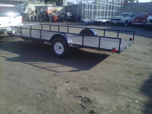 remolque cama baja camionetas motos 1500 kgs. ver 19