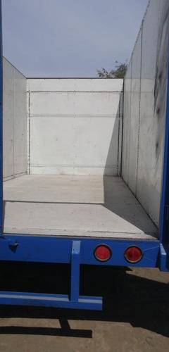 remolque cama baja de 3,000 kg. con paredes
