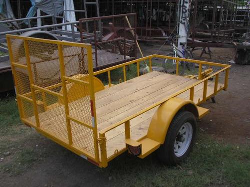 remolque cama baja economico cuatrimotos camionetas mex188