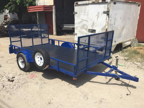 remolque cama baja plataforma rzr cuatrimotos camioneta mex