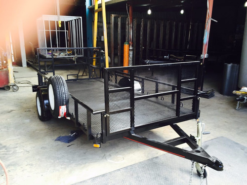 remolque cama baja polaris rzr cuatrimotos camioneta mex 17