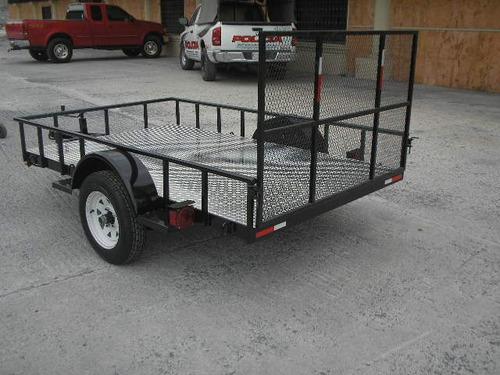 remolque cama baja traila cuatrimotos camioneta qro 20