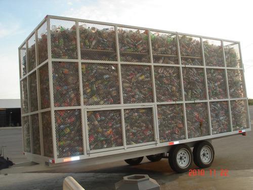 remolque cama baja,pet,carton,acero y desperdicio industrial