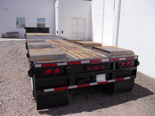 remolque camabaja extendible de 42 pies a 52 pies tres ejes