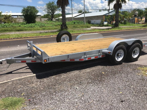 remolque car hauler para transportar autos y camionetas